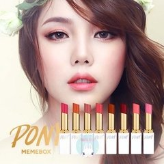 PONY EFFECT - PONY Blossom Lipstick  - Pretty in Pink (mate) - JuliJuli Beauty K-shop
