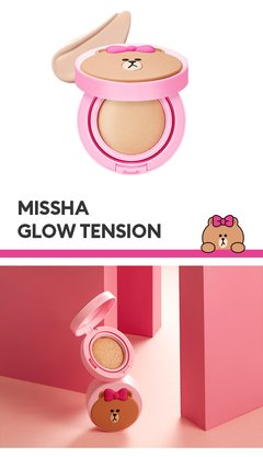 MISSHA Glow Tension (Line Friends Edition) - 15g (SPF50+ PA+++) CUSHION - comprar online