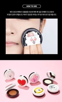 VT COSMETICS x BT21 -  Real Wear Cushion COVER RJ BTS en internet