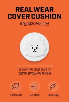 VT COSMETICS x BT21 -  Real Wear Cushion COVER RJ BTS