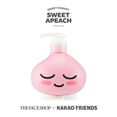 THE FACE SHOP - Cherry Blossom Hand & Body Lotion - Sweet Apeach Edition - 400ml