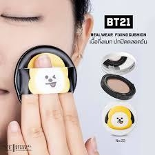 VT COSMETICS x BT21 - Real Wear Cushion FIXING CHIMMY - JuliJuli Beauty K-shop