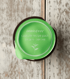[INNISFREE] Capsule Recipe Pack - 10ml  - Green Tea (Sleeping Pack)