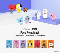 Mediheal - BTS - BT21 CHIMMY Face Point Mask (4 UNIDADES) - comprar online