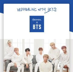 Mediheal - BTS Hydrating Care Special Set . 1set de 10 mascarillas y un set de 14 photocards