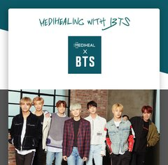 Mediheal - BTS Soothing Care Special Set - 1o mascarillas + 14 photocard]