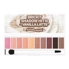 16 BRAND - 16 Brickit Shadow Hit 10 #Vanilla Latte - 10g