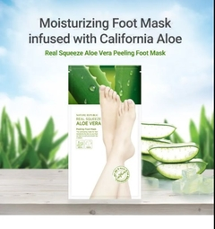 Nature Republic - Real Squeeze Aloe Vera Peeling Foot Mask (1par) - comprar online