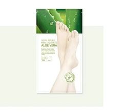 Nature Republic - Real Squeeze Aloe Vera Peeling Foot Mask (1par)