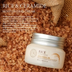 THE FACE SHOP - Rice & Ceramide Moisturizing Cream - 50ml