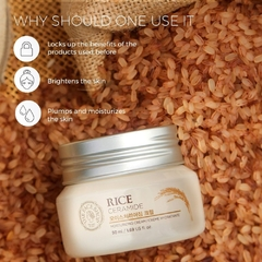 THE FACE SHOP - Rice & Ceramide Moisturizing Cream - 50ml en internet