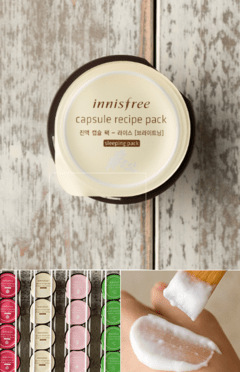 [INNISFREE] Capsule Recipe Pack - 10ml  - Rice (Sleeping) - comprar online