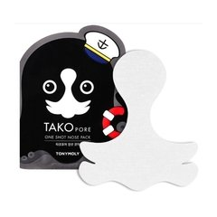 [TONYMOLY] Takopore One Shot Nose Pack