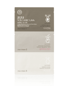 [THE FACE SHOP] Jeju Volcanic Lava 3 Step Deep Cleansing Nose Strip