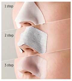 [THE FACE SHOP] Jeju Volcanic Lava 3 Step Deep Cleansing Nose Strip - comprar online