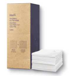 Klairs - Toner Mate 2 in 1 Cotton Pad (120 u)