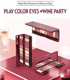 Etude House - Play Color Eyes - Wine Party - Paleta de sombra de ojos - comprar online