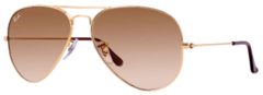 Ray Ban Aviator rb3025 001/51 dorado/marrón degradé