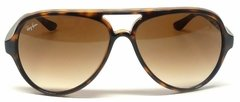 Ray Ban Cats rb4125 s5000 701/51 Carey/marrón degradé en internet