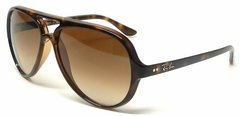 Imagen de Ray Ban Cats rb4125 s5000 701/51 Carey/marrón degradé