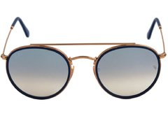 Ray Ban Double Bridge rb3647n 001/9u dorado/plateado degradé espejado - Starem
