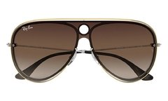 Ray Ban Highstreet rb3605n 9096/13 dorado/marrón degradé - comprar online