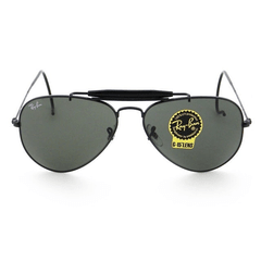 Ray Ban outdoorsman rb3030 l9500 negro/verde oscuro g15 - comprar online