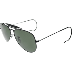 Ray Ban outdoorsman rb3030 l9500 negro/verde oscuro g15 - Starem