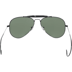 Ray Ban outdoorsman rb3030 l9500 negro/verde oscuro g15 - tienda online
