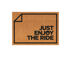 Modelo personalizado - Just Enjoy the Ride (50cm x 70cm)