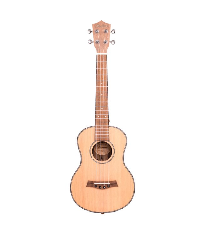 Solid Cedar wood Tenor Ukulele (Includes bag) - buy online