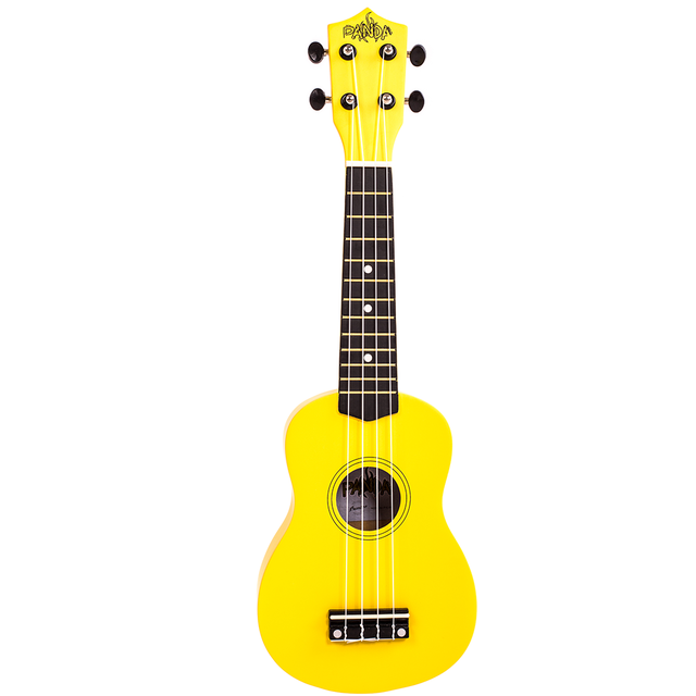 Soprano Ukulele Yellow Panda (Includes bag) - buy online