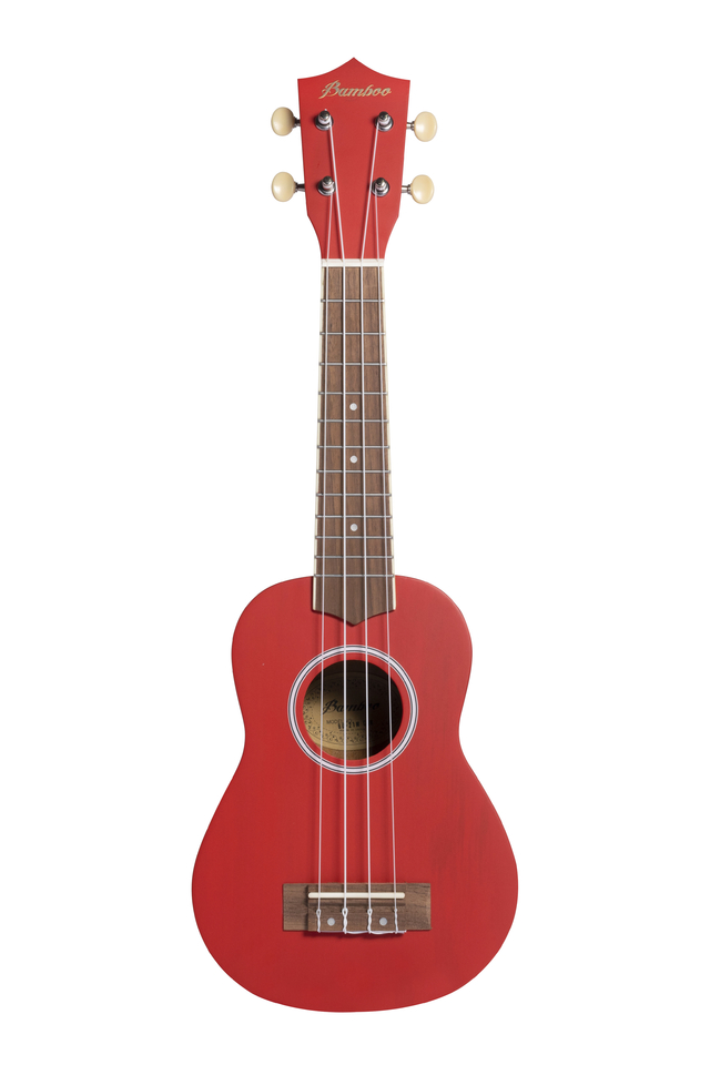 Red Mahogany wood Soprano Ukulele - buy online