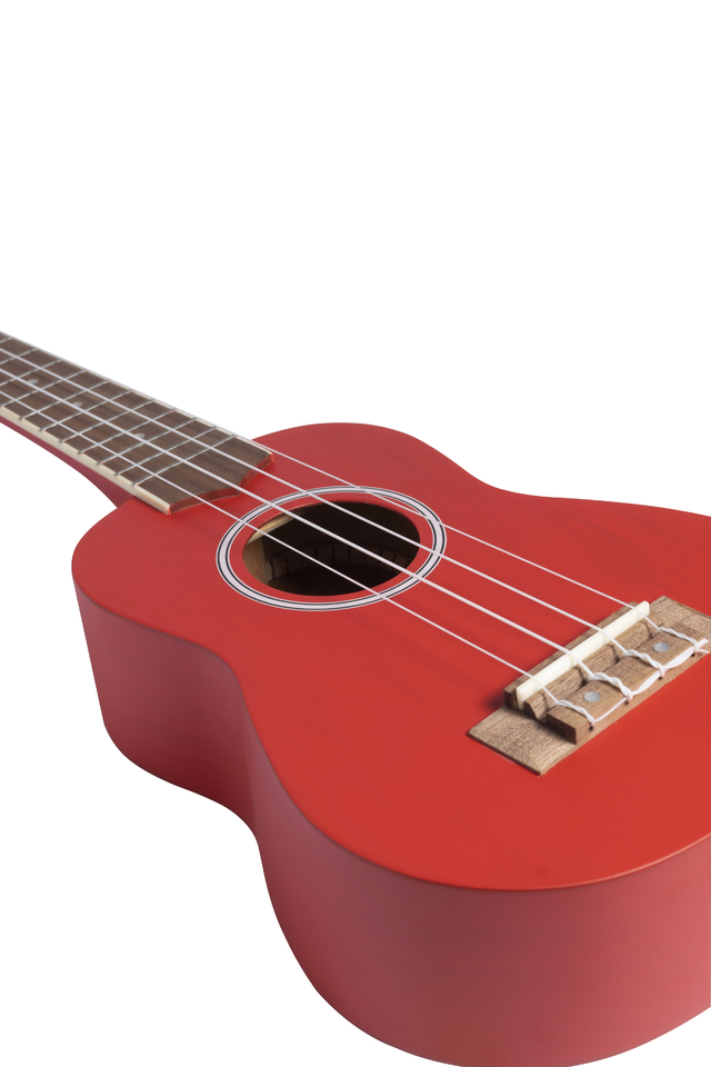Image of Red Mahogany wood Soprano Ukulele