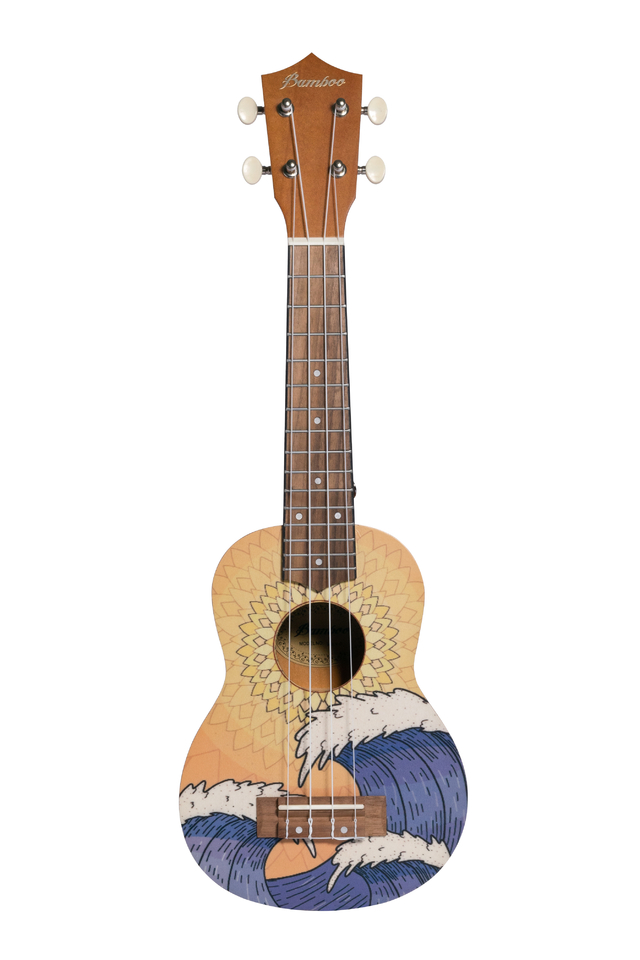 Ukelele Soprano Orange Wave (Incluye funda) - comprar online