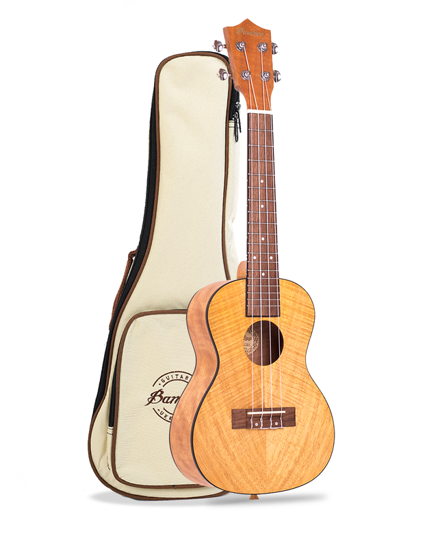 Exotic Mahogany wood Concert Ukulele (Includes Gig bag) - BAMBOO • Shop Online