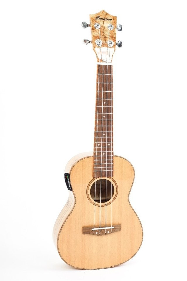 Solid Spruce wood Ukulele Concert w/eq Fishman (BU-23 MP)