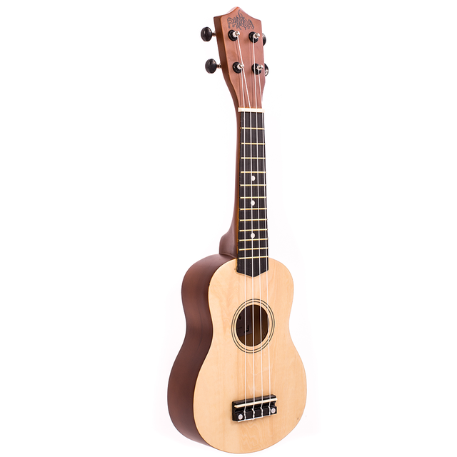Ukelele Soprano Natural Panda (Incluye funda) (P-1E NAT)