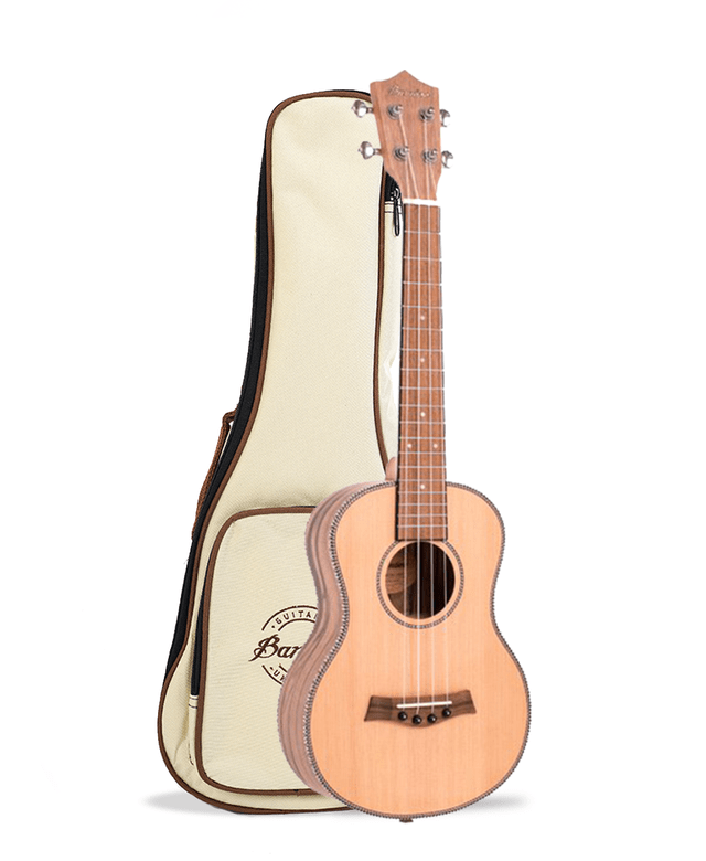 Image of Solid Cedar wood Tenor Ukulele (Includes bag)