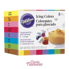Colorantes Icing Colors x8 - Wilton