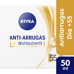 Crema Facial Anti-Edad NIVEA Antiarrugas 55+ 50 ml