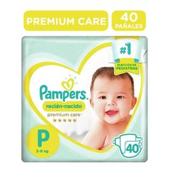 Pampers Premium Care Talle P