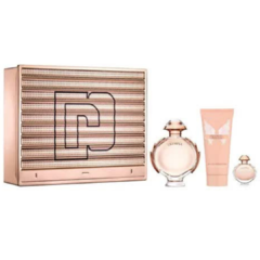 Paco Rabanne Olympea edp x80ml + Body Lotion + Mini Talla