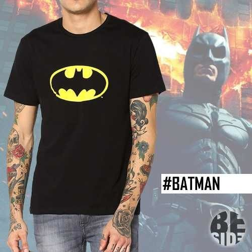 Remera Batman Negra / Logo / Dc / Comic / Geek / Hero
