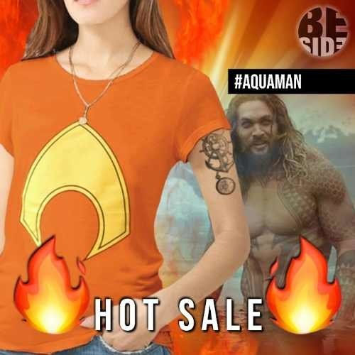 Remera Aquaman // Dc // Logo // Comic // Hero