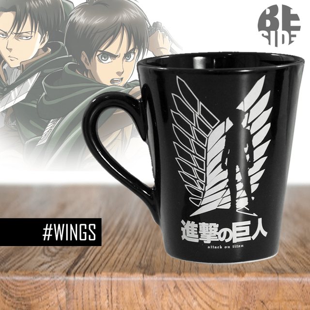 Taza Conica Attack On Titan