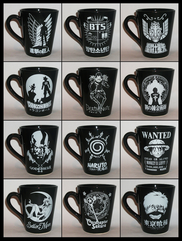 Taza Conica Attack On Titan en internet