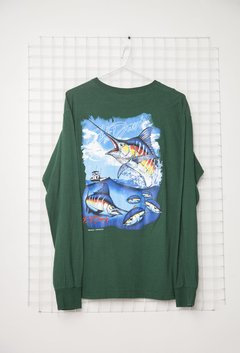 Remera Manga Larga Fish - comprar online