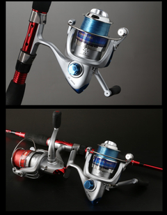 Imagen de Reel Frontal Spinning 6 Rulemanes Ideal Pejerey Ultraliviano