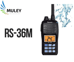 HANDY RECENT RS-36M MARINO VHF / 5W